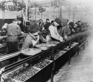 Ford Automobile Assembly Line